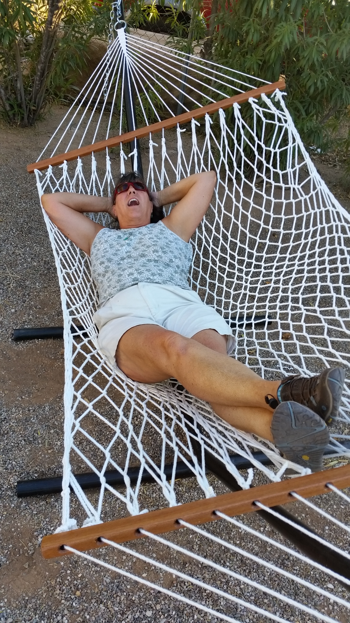 2018-02-07 Sherry in Hammock