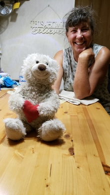 2018-09-18 Sherry and Louie after a good game of cards